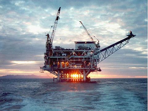 Naftna platforma - Santa Barbara, Kalifornija